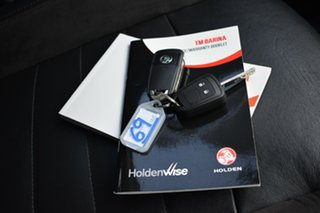 2013 Holden Barina TM MY14 RS White 6 Speed Sports Automatic Hatchback
