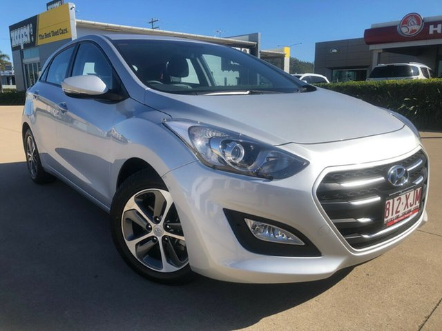 Used Hyundai i30 GD4 Series II MY17 Active X, 2016 Hyundai i30 GD4 Series II MY17 Active X Silver 6 Speed Sports Automatic Hatchback