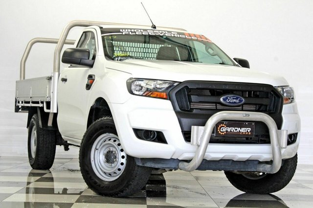 Used Ford Ranger PX MkII XL 2.2 Hi-Rider (4x2), 2016 Ford Ranger PX MkII XL 2.2 Hi-Rider (4x2) White 6 Speed Automatic Cab Chassis