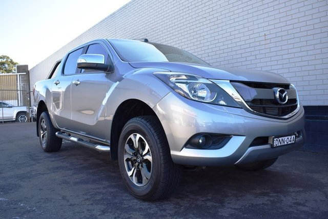 Used Mazda BT-50 UR0YG1 GT, 2017 Mazda BT-50 UR0YG1 GT Grey 6 Speed Sports Automatic Utility