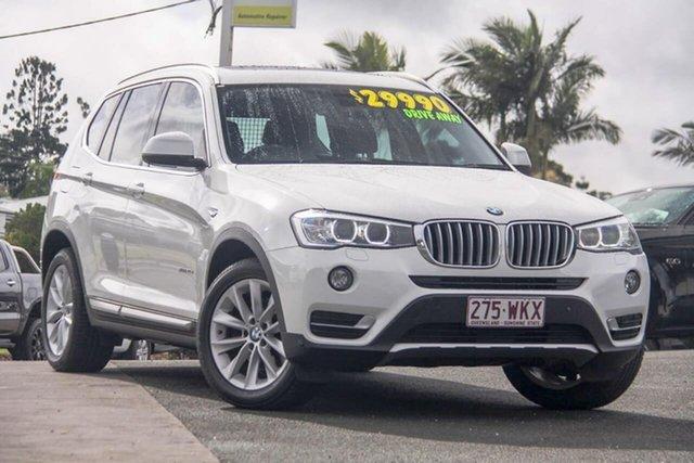 Used BMW X3 F25 LCI MY0414 xDrive20d Steptronic, 2014 BMW X3 F25 LCI MY0414 xDrive20d Steptronic White 8 Speed Automatic Wagon