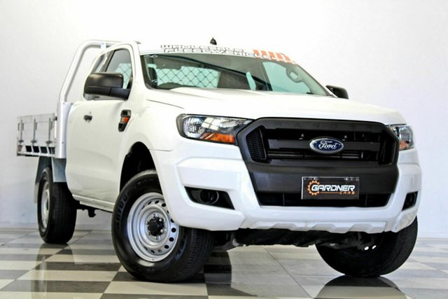 Used Ford Ranger PX MkII MY17 XL 3.2 (4x4), 2016 Ford Ranger PX MkII MY17 XL 3.2 (4x4) White 6 Speed Automatic Super Cab Chassis