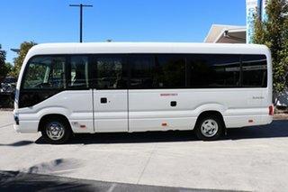 2017 Toyota Coaster Deluxe White Automatic Midi Coach