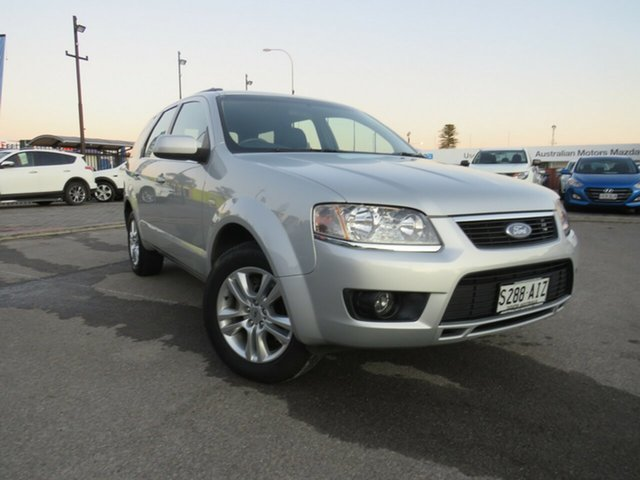 Used Ford Territory SY MkII TS RWD, 2010 Ford Territory SY MkII TS RWD Silver 4 Speed Sports Automatic Wagon