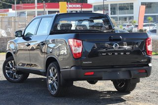 2021 Ssangyong Musso Q200 MY20.5 Ultimate Crew Cab Black 6 Speed Sports Automatic Utility.