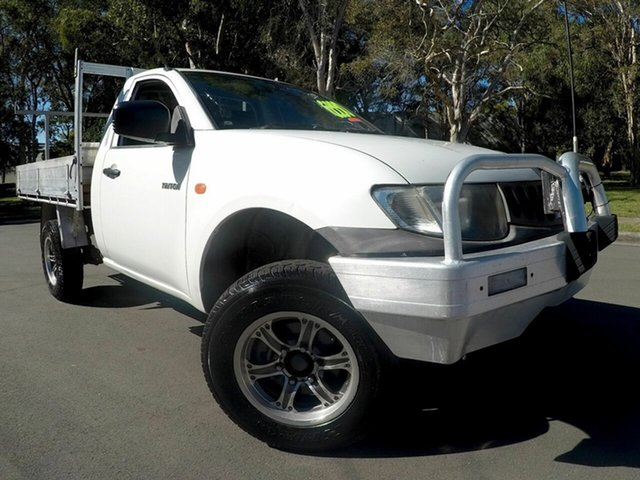 Used Mitsubishi Triton  , 2008 Mitsubishi Triton KA KB White Manual Single Cab
