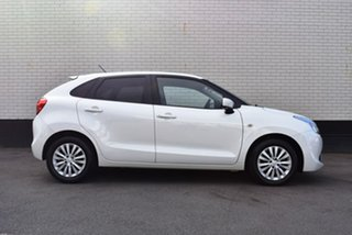 2016 Suzuki Baleno EW GL White 4 Speed Automatic Hatchback