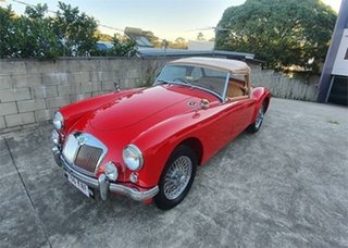 1957 MG A MK1 Red 4 Speed Manual Roadster.