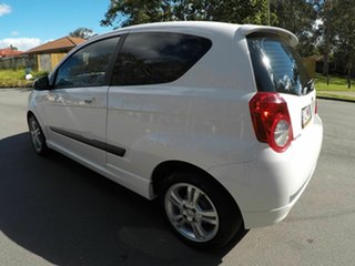 2010 Holden Barina TK White 5 Speed Auto Active Select Hatchback