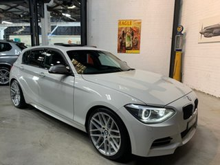 2013 BMW 1 Series F20 MY0713 M135i White 8 Speed Sports Automatic Hatchback