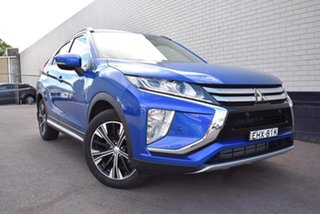 2018 Mitsubishi Eclipse Cross YA MY18 ES 2WD Blue 8 Speed Constant Variable Wagon