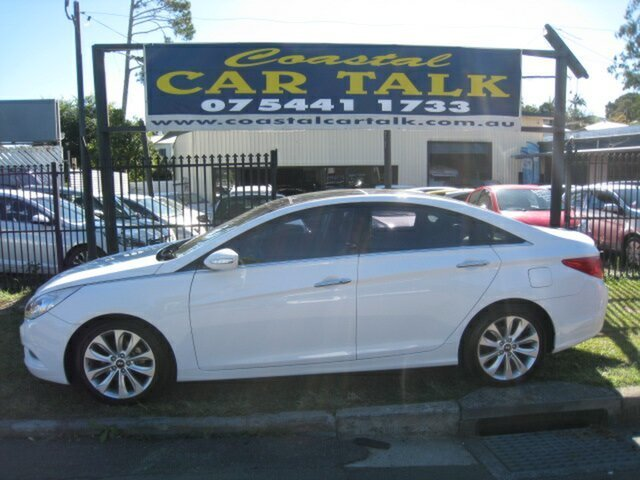 Used Hyundai i45 YF MY11 Premium, 2011 Hyundai i45 YF MY11 Premium White 6 Speed Automatic Sedan