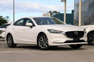 2019 Mazda 6 GL Touring Snowflake White Pearl 6 Speed Automatic Sedan.
