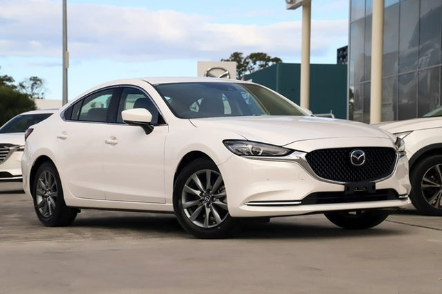 New Mazda 6 GL Touring Kirrawee, 2019 Mazda 6 GL Touring Snowflake White Pearl 6 Speed Automatic Sedan