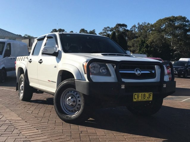 Used Holden Colorado RC MY10 LX Crew Cab, 2010 Holden Colorado RC MY10 LX Crew Cab White 5 Speed Manual Utility