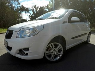 2010 Holden Barina TK White 5 Speed Auto Active Select Hatchback.