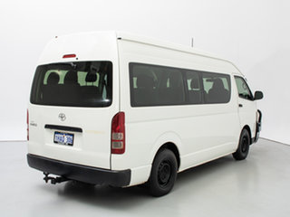 2012 Toyota HiAce KDH223R MY12 Upgrade Commuter White Bus