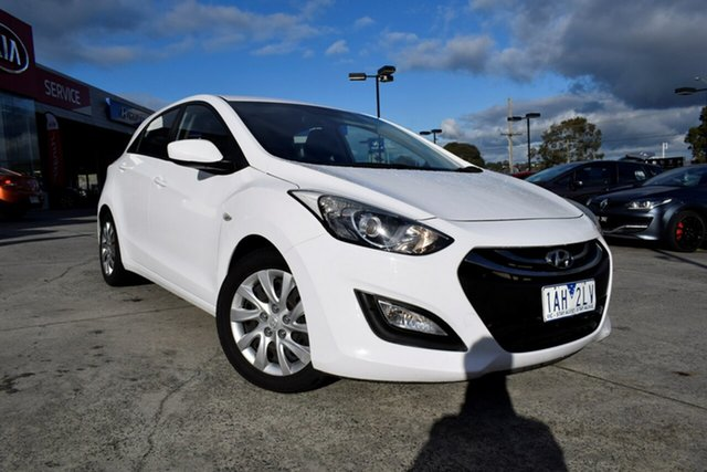 Used Hyundai i30 GD Active, 2013 Hyundai i30 GD Active White 6 Speed Sports Automatic Hatchback