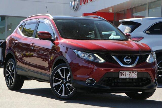 Used Nissan Qashqai J11 TI, 2015 Nissan Qashqai J11 TI Red 1 Speed Wagon