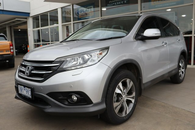 Used Honda CR-V RM VTi-L 4WD, 2013 Honda CR-V RM VTi-L 4WD Silver 5 Speed Automatic Wagon