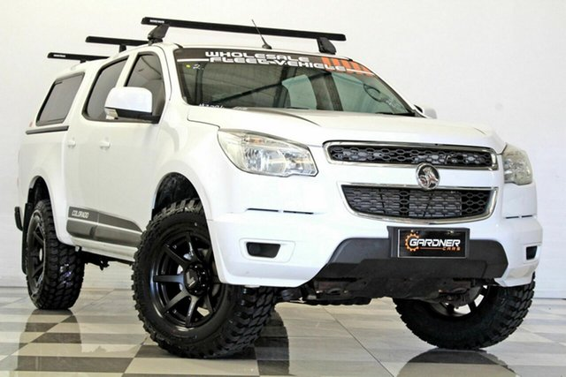 Used Holden Colorado RG MY16 LS (4x2), 2016 Holden Colorado RG MY16 LS (4x2) White 6 Speed Automatic Crew Cab Pickup