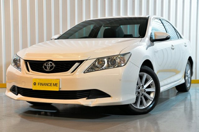 Used Toyota Aurion GSV50R AT-X, 2017 Toyota Aurion GSV50R AT-X White 6 Speed Sports Automatic Sedan