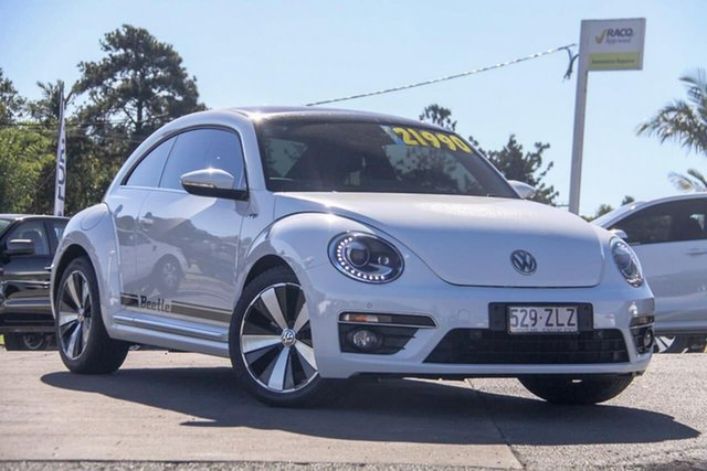 Used Volkswagen Beetle 1L MY15 Coupe, 2014 Volkswagen Beetle 1L MY15 Coupe White 6 Speed Manual Liftback