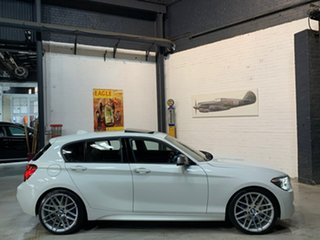 2013 BMW 1 Series F20 MY0713 M135i White 8 Speed Sports Automatic Hatchback.