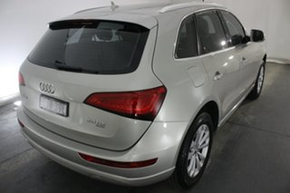2012 Audi Q5 8R MY13 TDI S Tronic Quattro Cuvee Silver 7 Speed Sports Automatic Dual Clutch Wagon