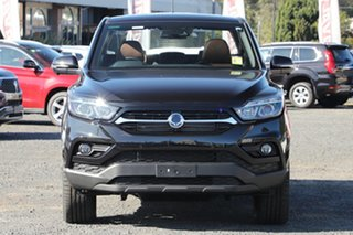 2021 Ssangyong Musso Q200 MY20.5 Ultimate Crew Cab Black 6 Speed Sports Automatic Utility