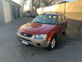 2005 Ford Territory SX TX Red 4 Speed Sports Automatic Wagon.