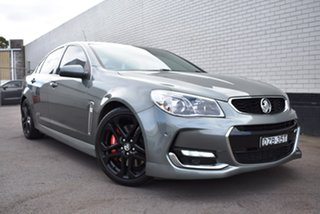 2015 Holden Commodore VF II MY16 SS V Redline Grey 6 Speed Manual Sedan.