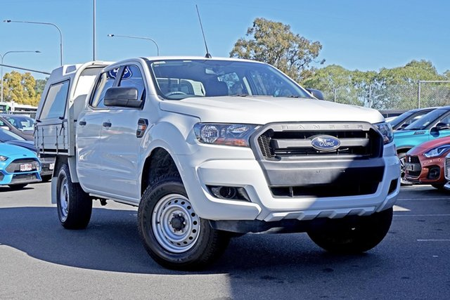 Used Ford Ranger PX MkII XL Double Cab 4x2 Hi-Rider, 2016 Ford Ranger PX MkII XL Double Cab 4x2 Hi-Rider White 6 Speed Sports Automatic Cab Chassis