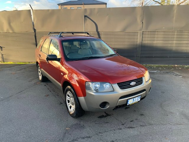 Used Ford Territory SX TX, 2005 Ford Territory SX TX Red 4 Speed Sports Automatic Wagon