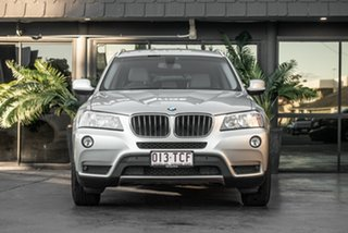 2013 BMW X3 F25 MY0413 xDrive20d Steptronic Silver 8 Speed Automatic Wagon.