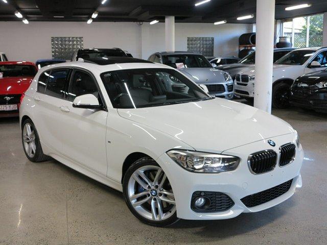 Used BMW 1 Series F20 LCI 120i Steptronic M Sport, 2015 BMW 1 Series F20 LCI 120i Steptronic M Sport White 8 Speed Sports Automatic Hatchback