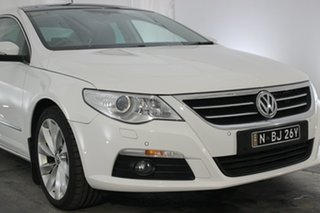 2009 Volkswagen Passat Type 3CC MY09 V6 FSI DSG 4MOTION CC White 6 Speed.