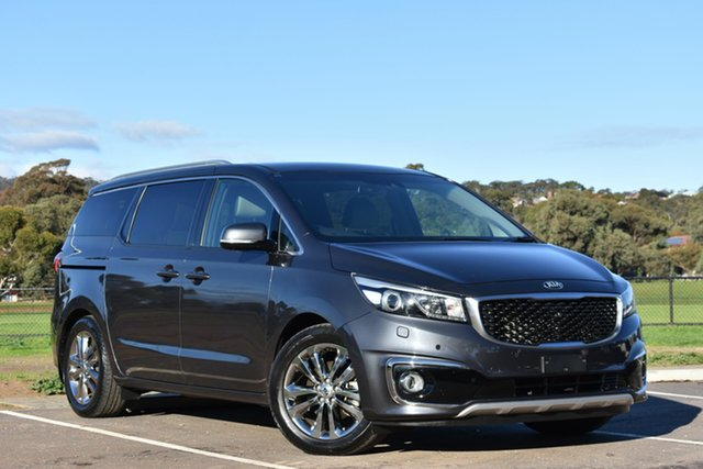 Used Kia Carnival YP MY16 Platinum, 2016 Kia Carnival YP MY16 Platinum Grey 6 Speed Sports Automatic Wagon