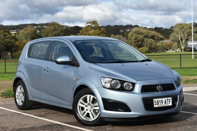 Used Holden Barina TM , 2012 Holden Barina TM Blue 5 Speed Manual Hatchback