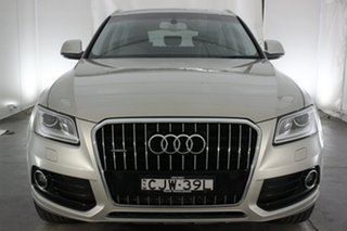 2012 Audi Q5 8R MY13 TDI S Tronic Quattro Cuvee Silver 7 Speed Sports Automatic Dual Clutch Wagon.