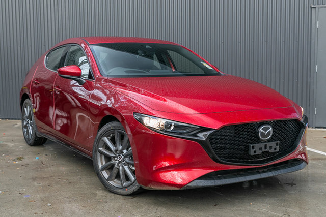 New Mazda 3 BP2HLA G25 SKYACTIV-Drive GT, 2020 Mazda 3 BP2HLA G25 SKYACTIV-Drive GT Soul Red Crystal 6 Speed Sports Automatic Hatchback