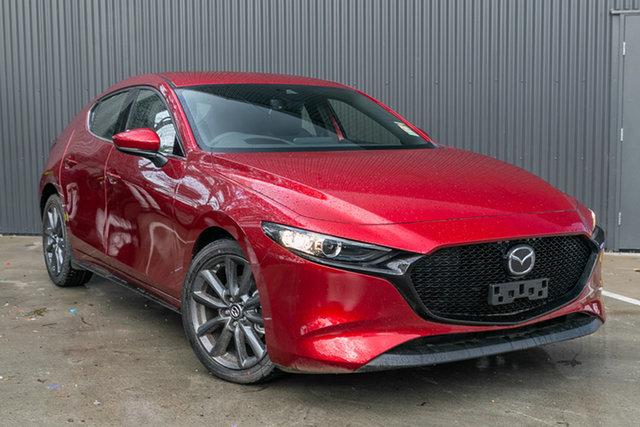 New Mazda 3 BP2HLA G25 SKYACTIV-Drive GT, 2020 Mazda 3 BP2HLA G25 SKYACTIV-Drive GT Soul Red Crystal 6 Speed Sports Automatic Hatchback