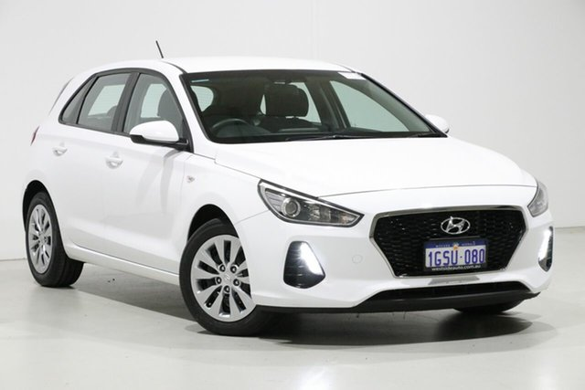 Used Hyundai i30 PD MY19 GO 1.6 CRDi, 2019 Hyundai i30 PD MY19 GO 1.6 CRDi White 7 Speed Auto Dual Clutch Hatchback
