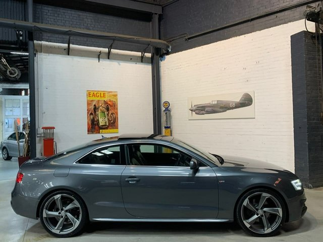 Used Audi A5 8T MY12 S Tronic Quattro, 2012 Audi A5 8T MY12 S Tronic Quattro Grey 7 Speed Sports Automatic Dual Clutch Coupe