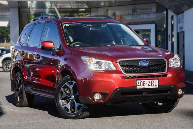 Used Subaru Forester S4 MY14 2.5i-S Lineartronic AWD, 2014 Subaru Forester S4 MY14 2.5i-S Lineartronic AWD Red 6 Speed Constant Variable Wagon