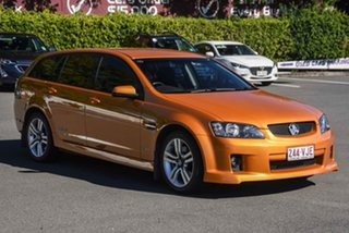 2010 Holden Commodore VE II SS Sportwagon Orange 6 Speed Sports Automatic Wagon.