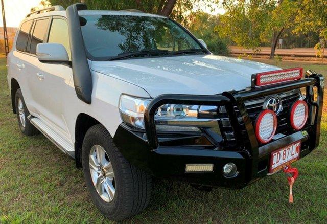 Used Toyota Landcruiser VDJ200R GXL, 2016 Toyota Landcruiser VDJ200R GXL White 6 Speed Sports Automatic Wagon