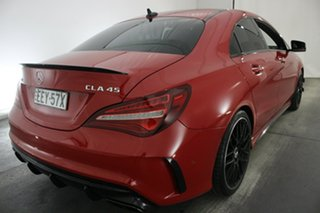 2016 Mercedes-Benz CLA-Class C117 806MY CLA45 AMG SPEEDSHIFT DCT 4MATIC Red 7 Speed