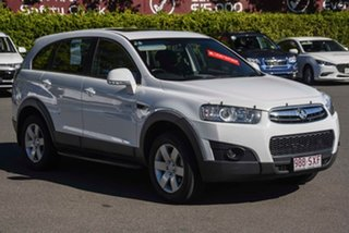 2012 Holden Captiva CG Series II MY12 7 SX White 6 Speed Sports Automatic Wagon.
