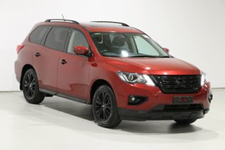 2017 Nissan Pathfinder R52 MY17 Series 2 ST-L (4x4) Red Continuous Variable Wagon